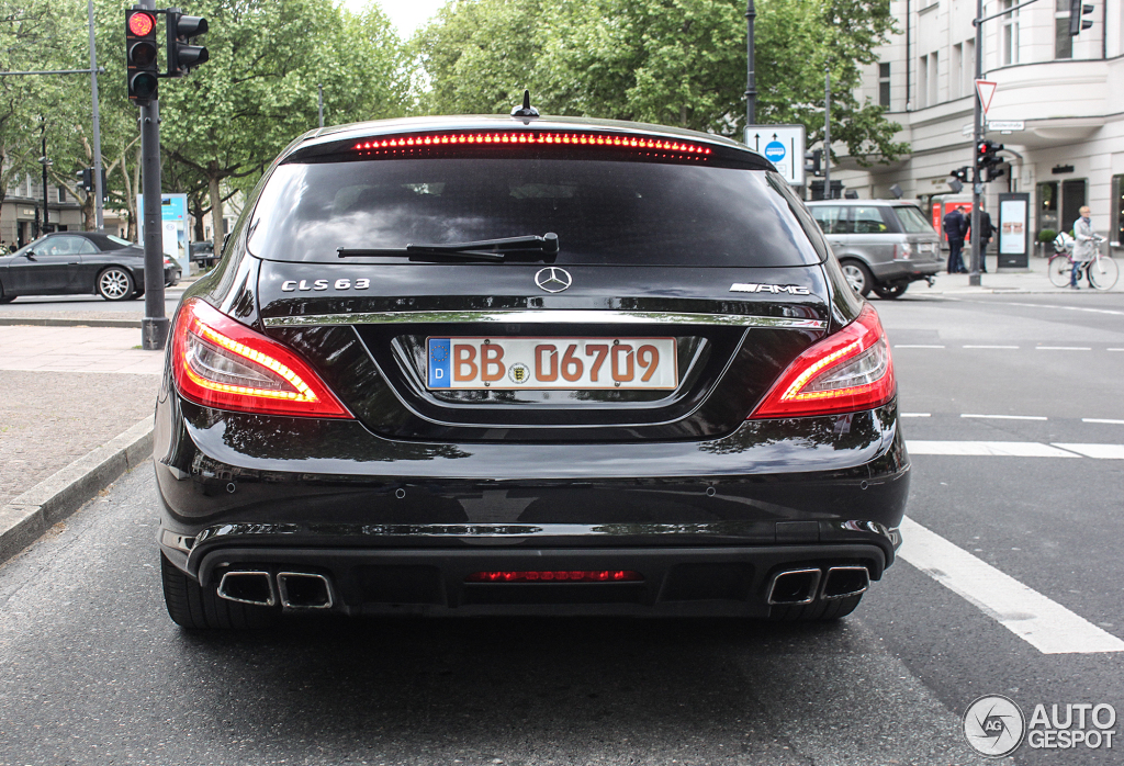 Mercedes Benz Cls 63 Amg X218 Shooting Brake 25 Mai 2013