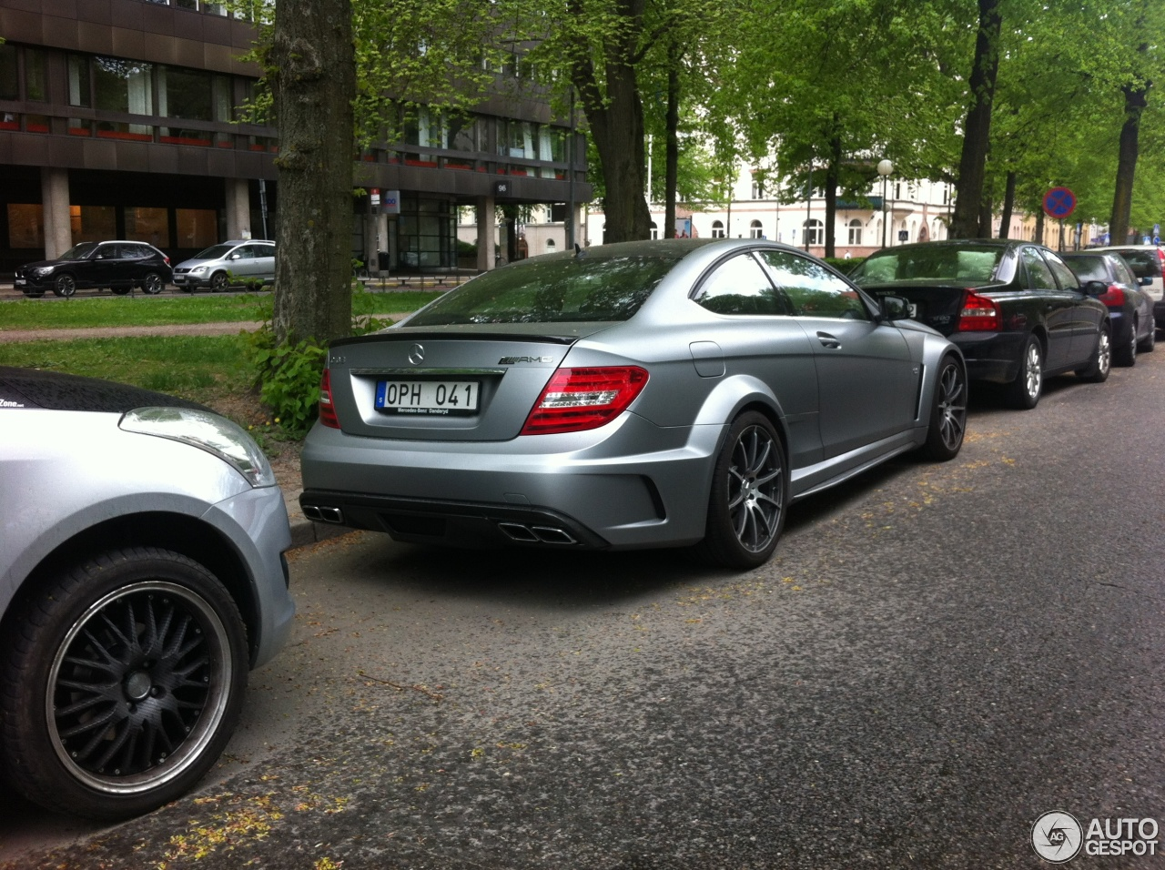 Mercedes benz c 63 amg coup black series 27 may 2013 for Mercedes benz 3 series