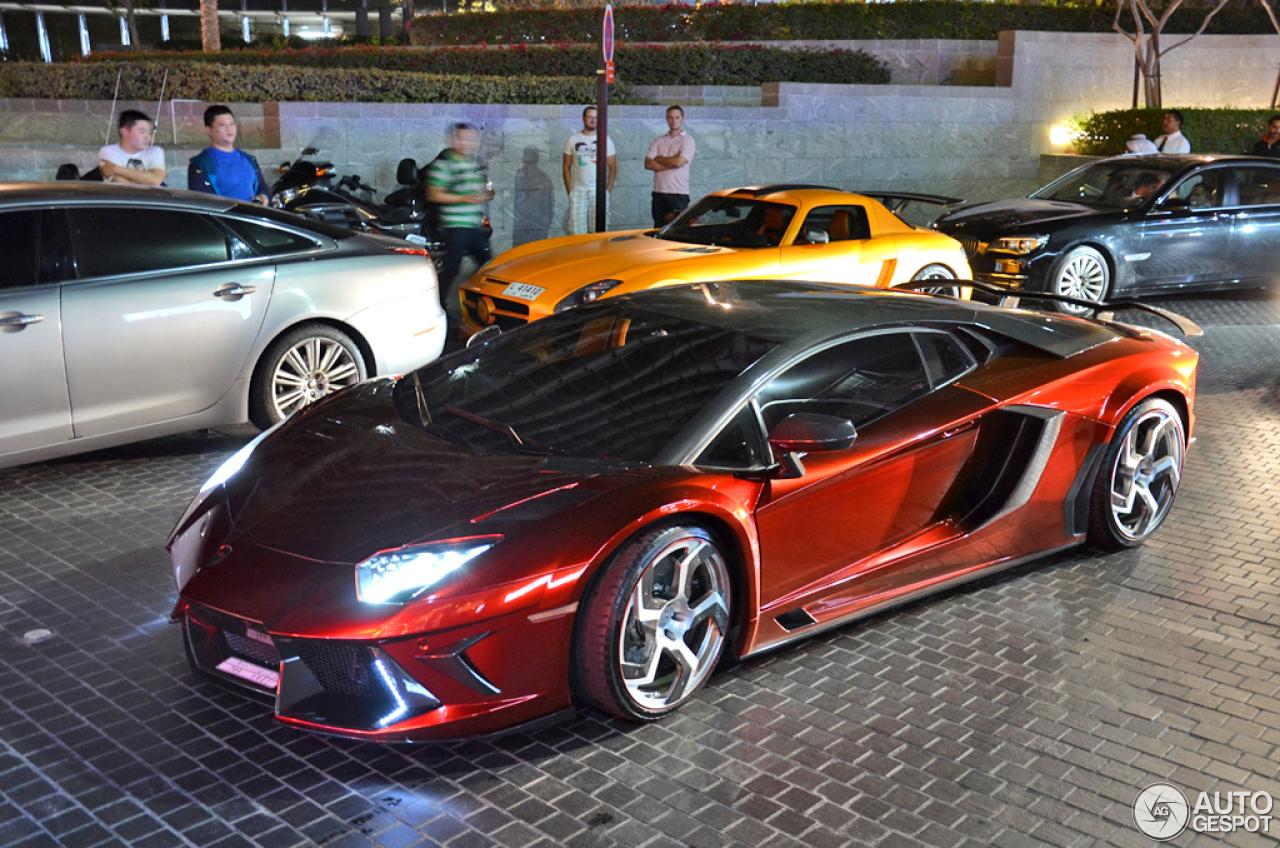 Lamborghini Mansory Aventador Lp700 4 28 May 2013
