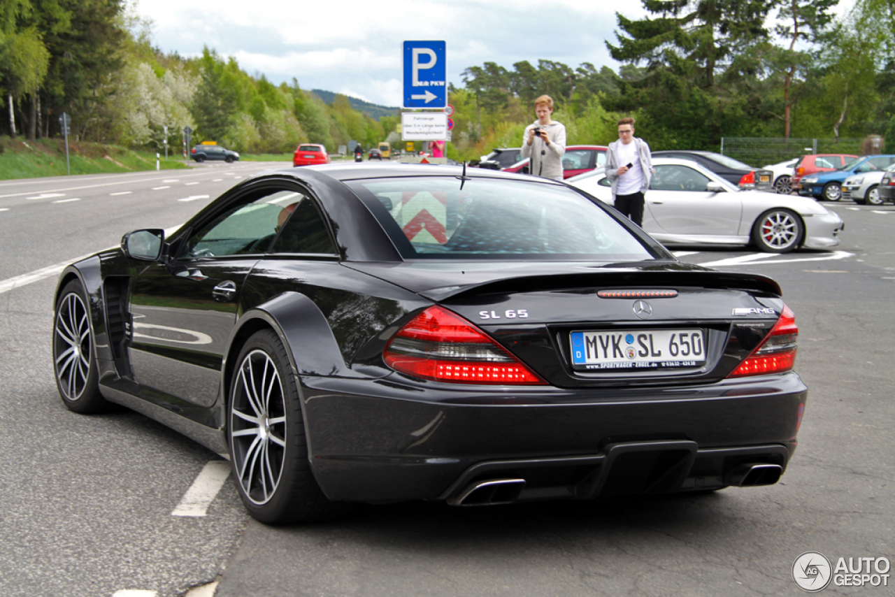 Mercedes benz sl 65 amg black series 31 mai 2013 autogespot