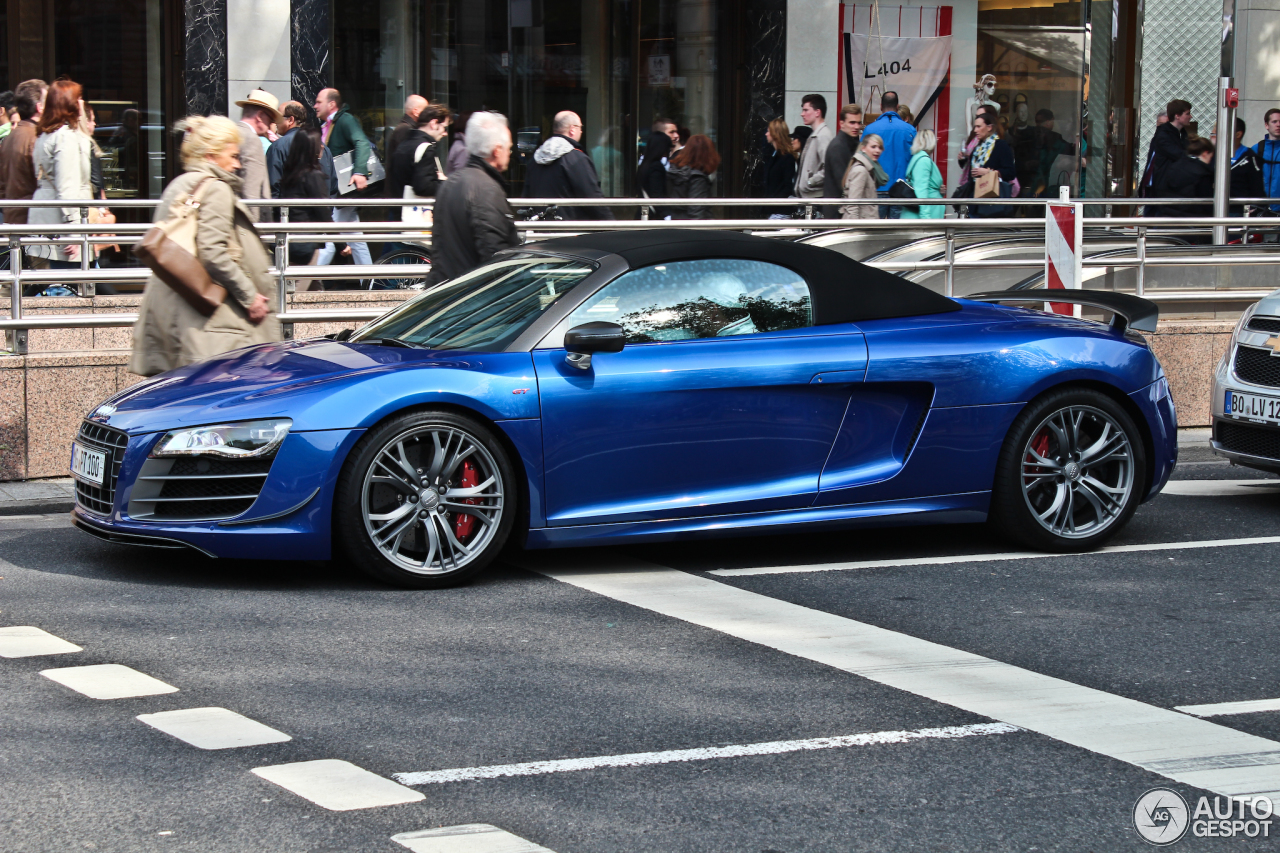Audi R8 Gt Spyder 3 Juni 2013 Autogespot