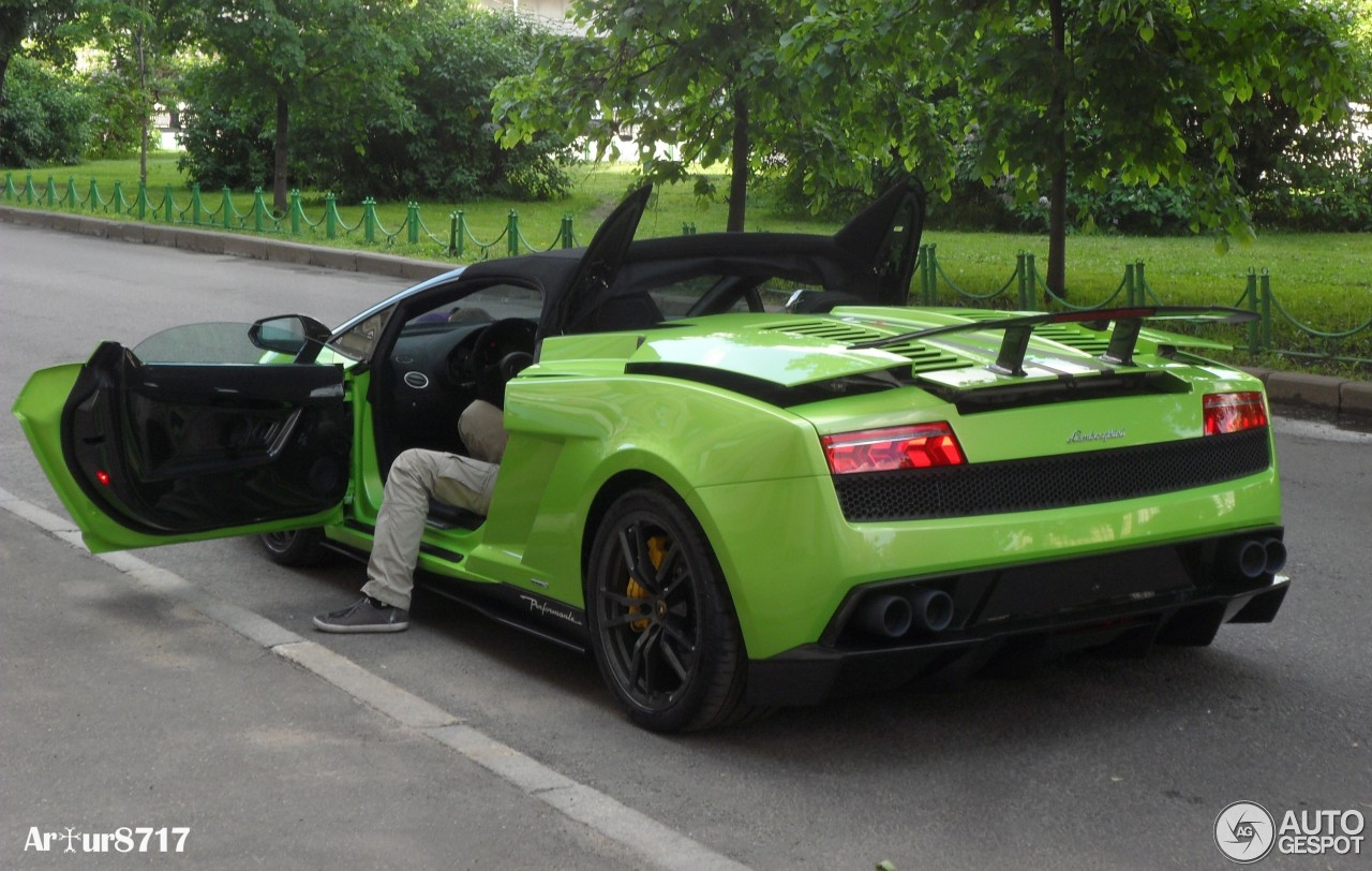 5 i lamborghini gallardo lp570 4 spyder performante 5 - Lamborghini Gallardo Spyder Green