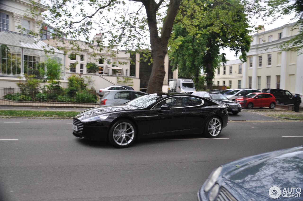 Aston Martin Rapide S Black