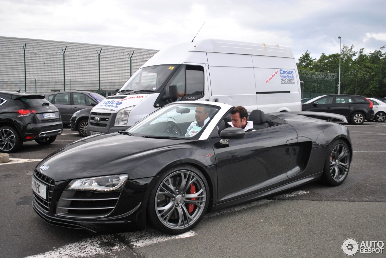 audi r8 gt spyder 23 juin 2013 autogespot. Black Bedroom Furniture Sets. Home Design Ideas