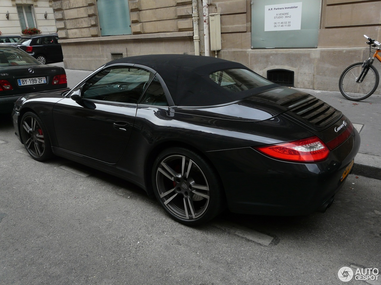porsche 997 carrera 4s cabriolet mkii 23 juin 2013 autogespot. Black Bedroom Furniture Sets. Home Design Ideas