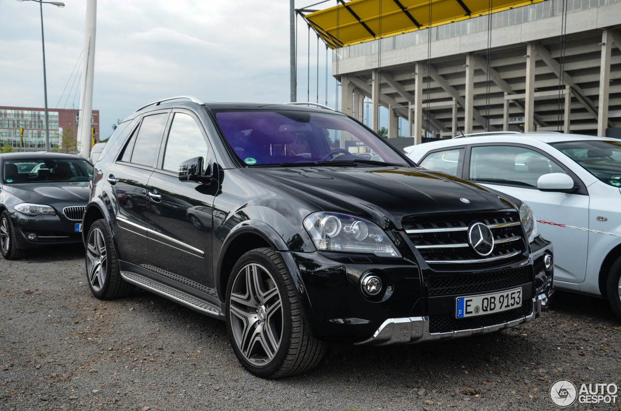 Mercedes Benz Ml 63 Amg W164 2009 25 June 2013 Autogespot