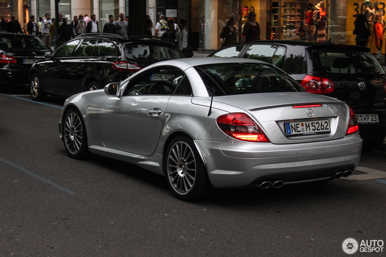 mercedes benz slk 55 amg r171 2007 25 june 2013 autogespot. Black Bedroom Furniture Sets. Home Design Ideas