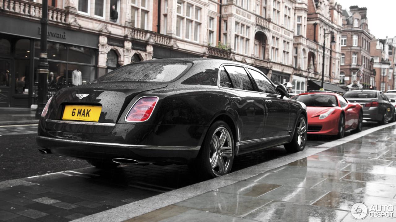 Bentley Mulsanne 2009 3 July 2013 Autogespot