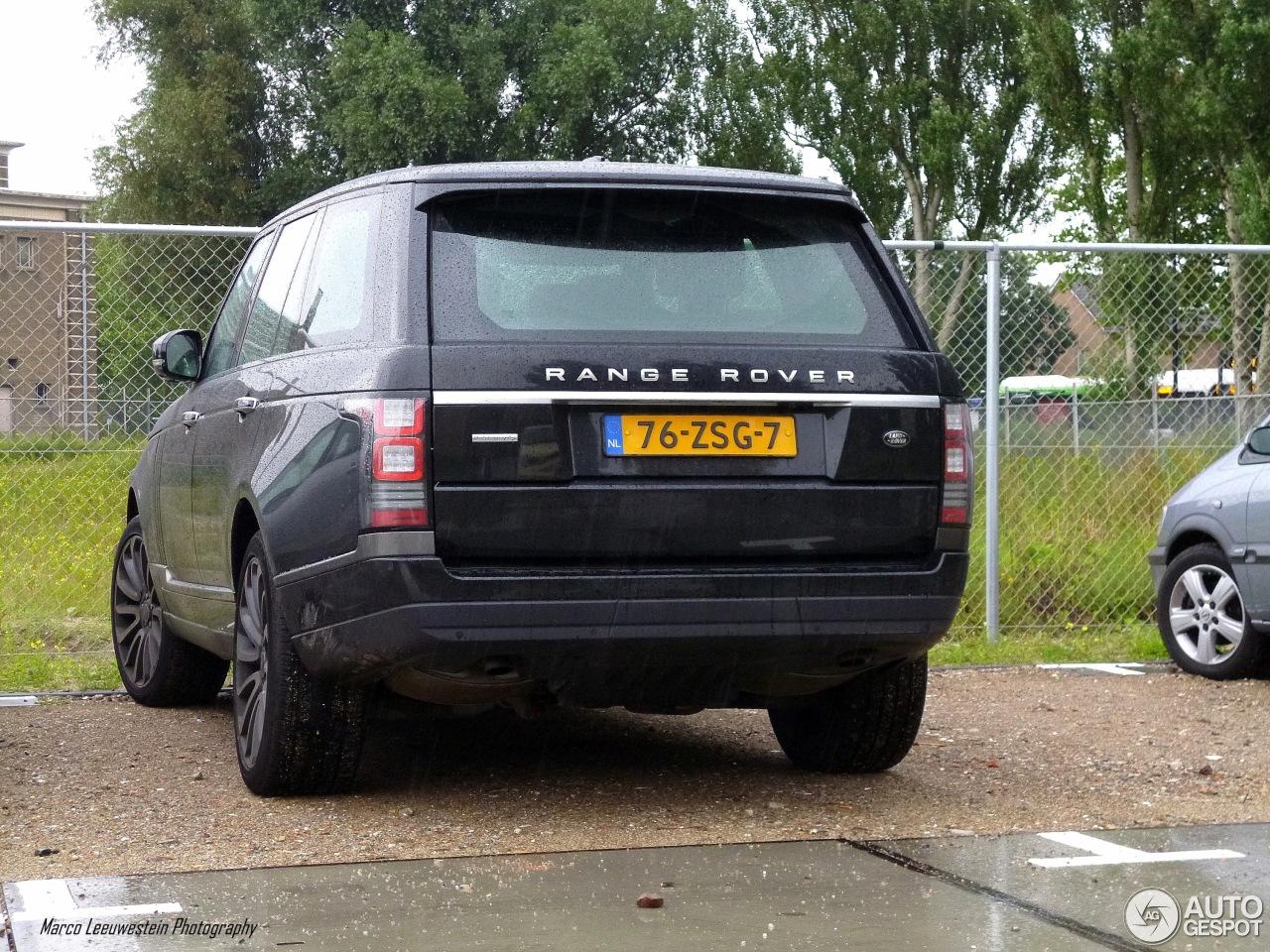land rover range rover autobiography 2013 3 juli 2013 autogespot. Black Bedroom Furniture Sets. Home Design Ideas