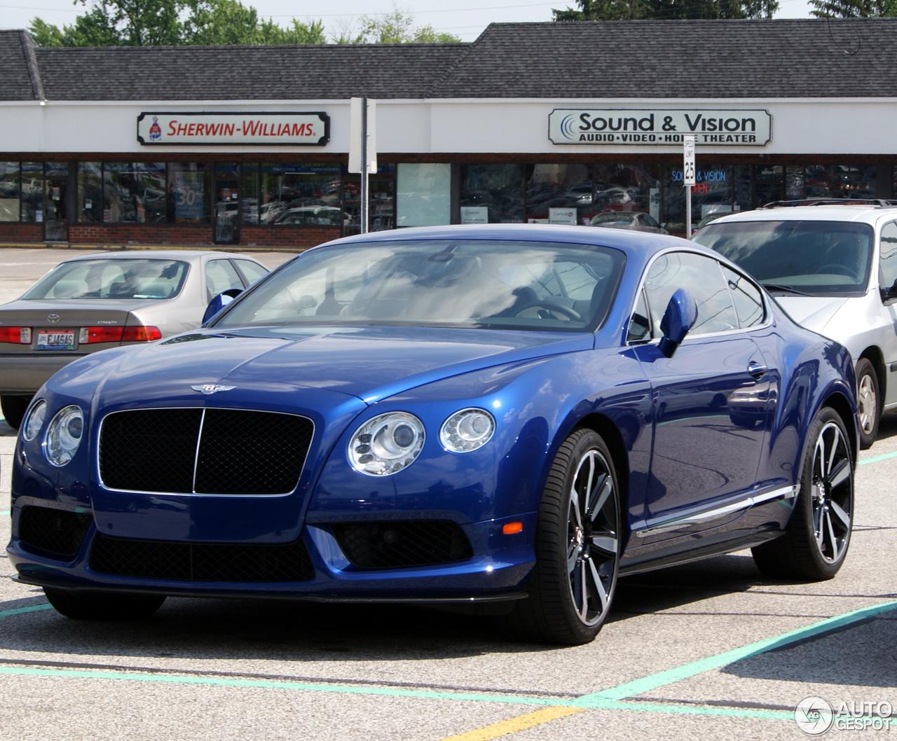 Bentley Continental Gt V8 5 July 2013 Autogespot
