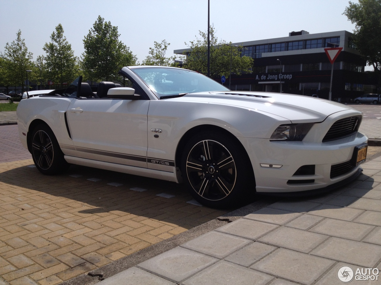 Ford Mustang Gt California Special Convertible 2012 5