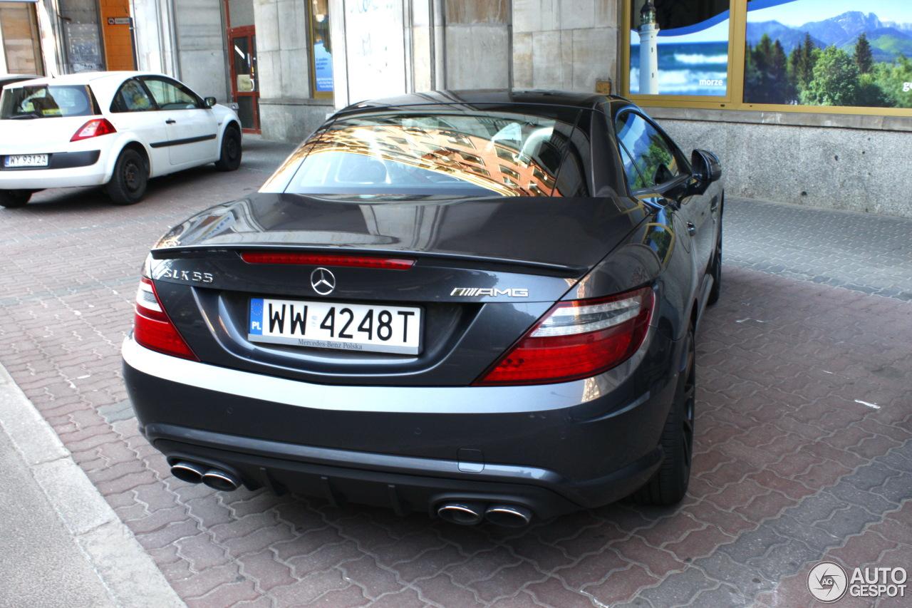 Mercedes-Benz SLK 55 AMG R172 2