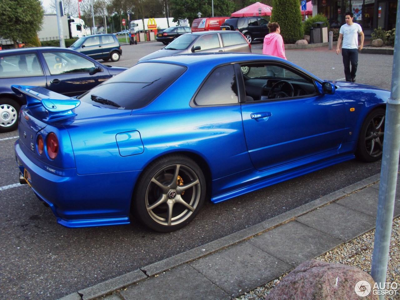 Nissan Skyline R34 GTR VSpec  8 July 2013  Autogespot
