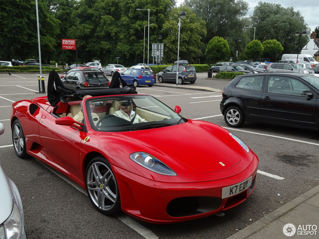 Ferrari F430 Spider 9 July 2013 Autogespot