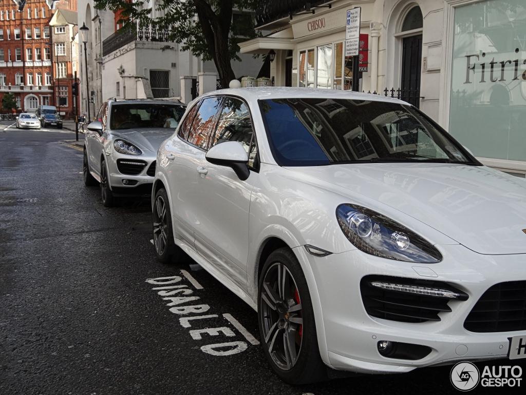 1 i porsche 958 cayenne turbo s 1 - Porsche Cayenne Turbo White