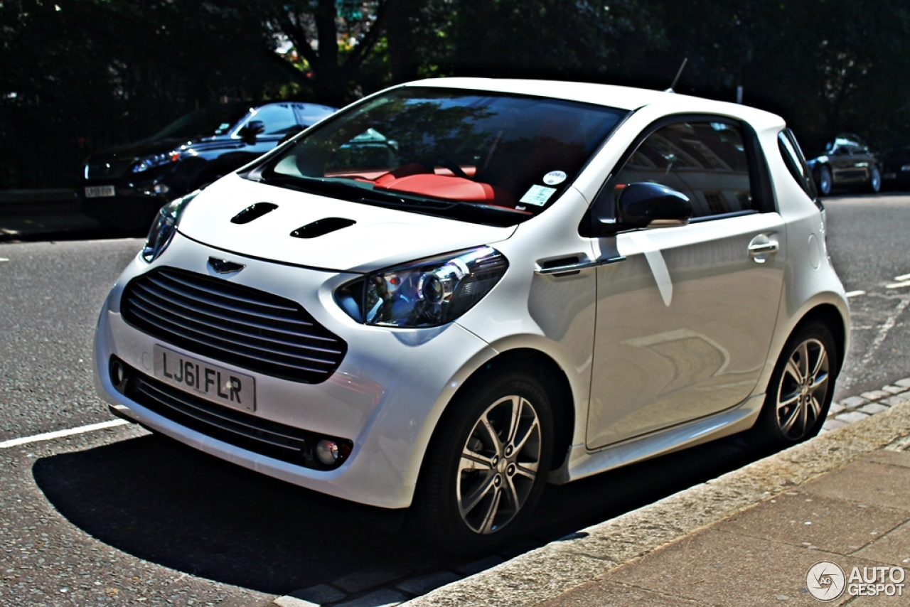 aston martin cygnet 14 july 2013 autogespot. Black Bedroom Furniture Sets. Home Design Ideas