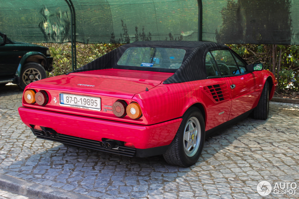 ferrari mondial 3 2 cabriolet 15 july 2013 autogespot. Black Bedroom Furniture Sets. Home Design Ideas