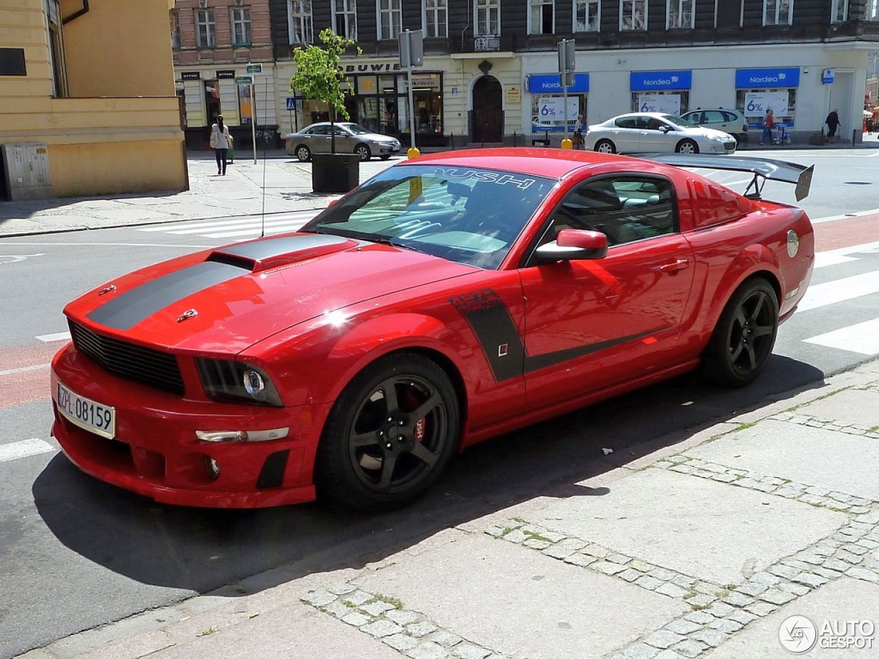 ford mustang roush 427r trak pak 15 july 2013 autogespot. Black Bedroom Furniture Sets. Home Design Ideas