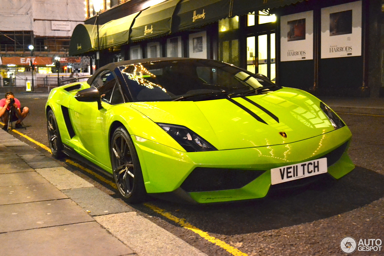 4 i lamborghini gallardo lp570 4 spyder performante 4 - Lamborghini Gallardo Spyder Green