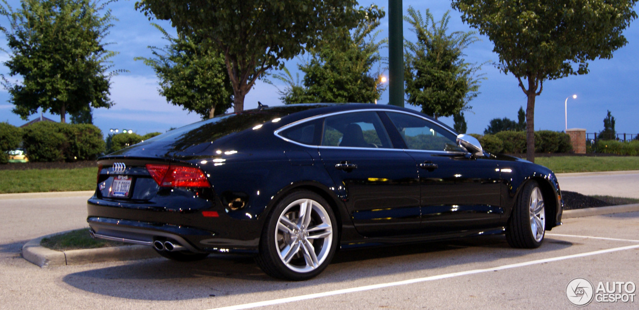 audi s7 sportback 18 july 2013 autogespot. Black Bedroom Furniture Sets. Home Design Ideas