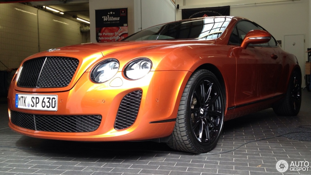 bentley continental supersports coup 19 july 2013 autogespot. Cars Review. Best American Auto & Cars Review