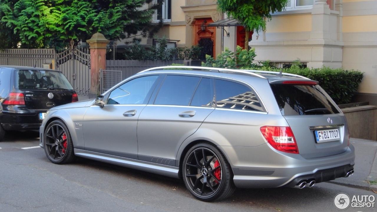 Mercedes Benz C 63 Amg Estate Edition 507 20 July 2013 Autogespot