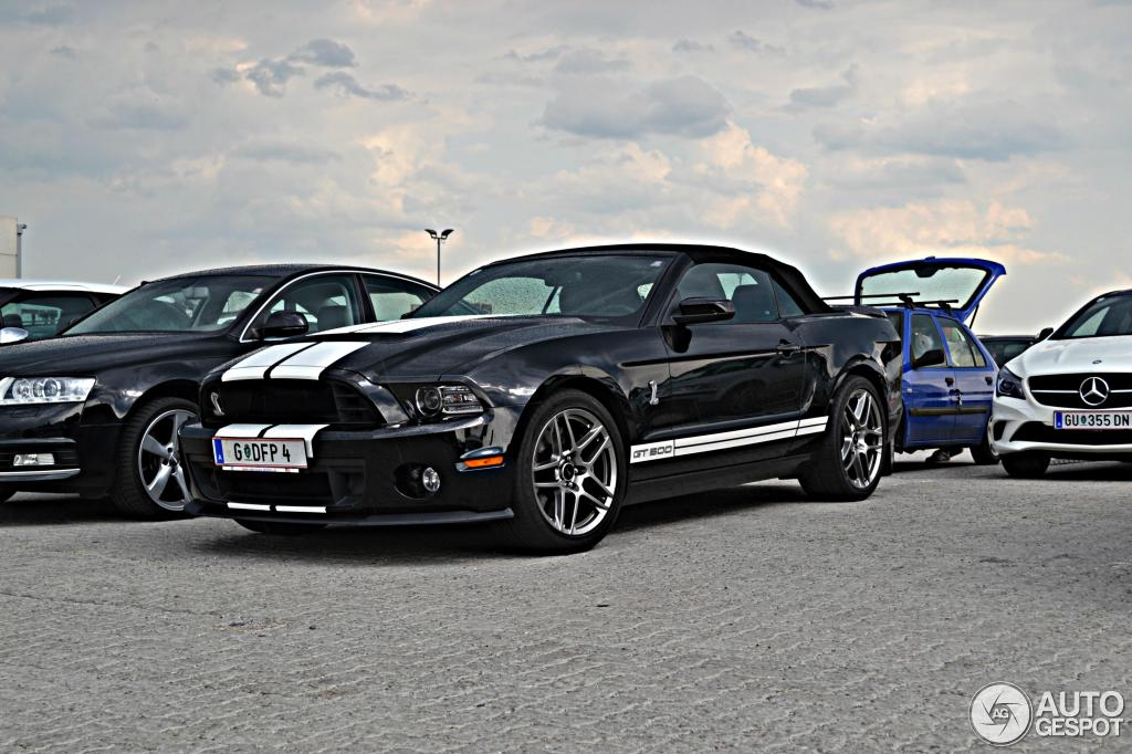 ford mustang shelby gt500 convertible 2014 21 july 2013 autogespot. Black Bedroom Furniture Sets. Home Design Ideas
