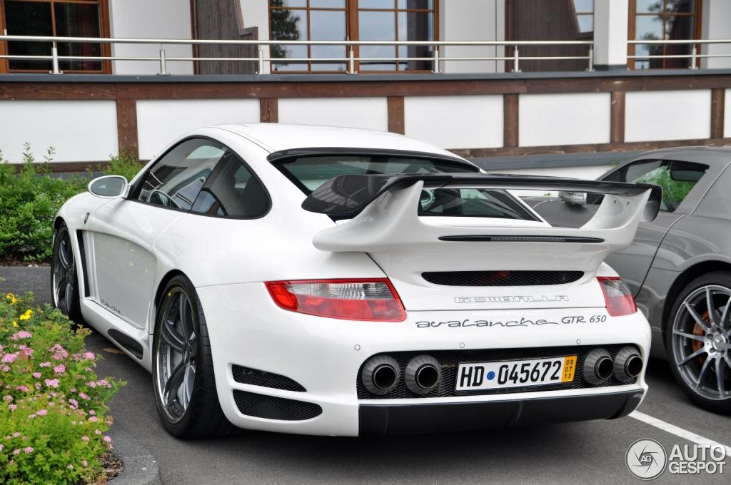 Porsche Gemballa Avalanche 1 i Gemballa Avalanche Gtr 650