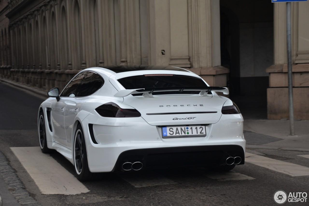 Porsche Panamera Turbo Techart Grand Gt 24 Juillet 2013