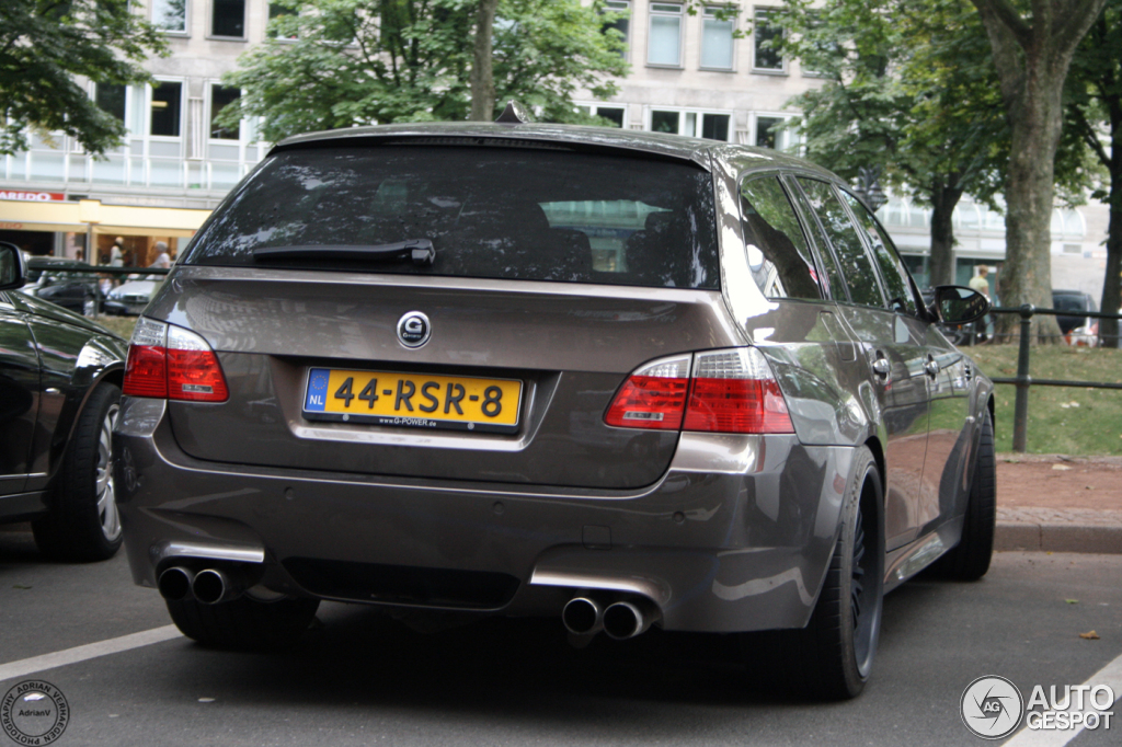 Bmw M5 E61 Touring G Power Hurricane Rr 28 July 2013 Autogespot