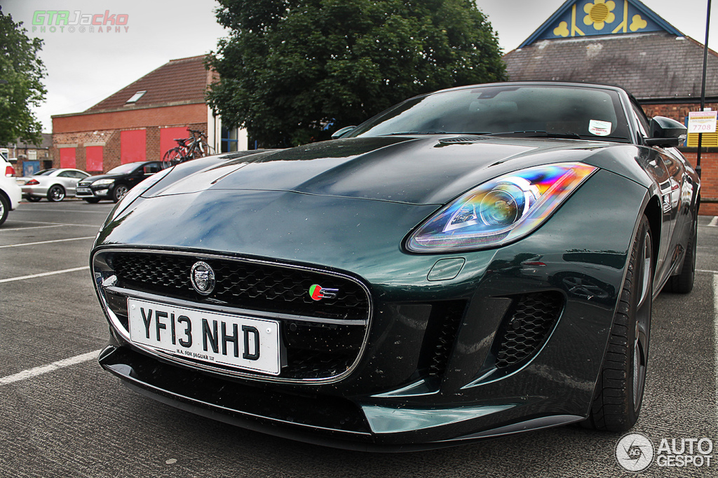Jaguar f type coupe green - photo#10