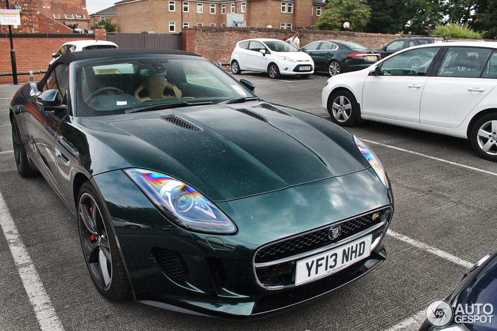 jaguar f type green - photo #2