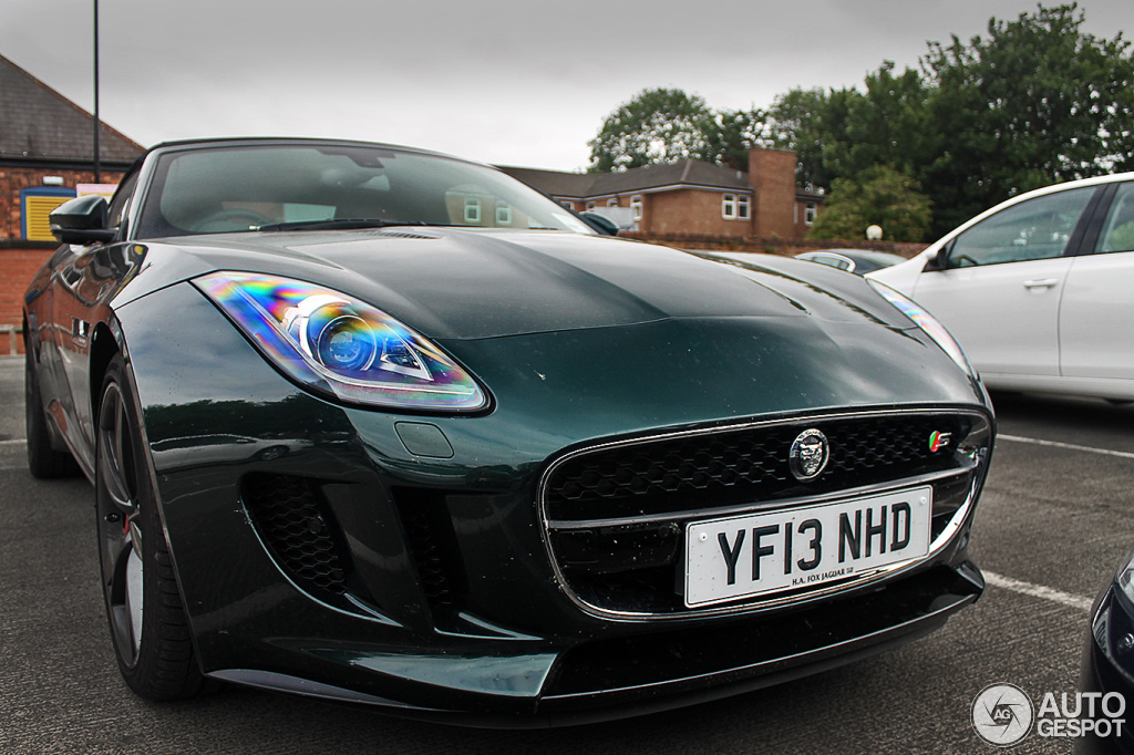 jaguar f type green - photo #15