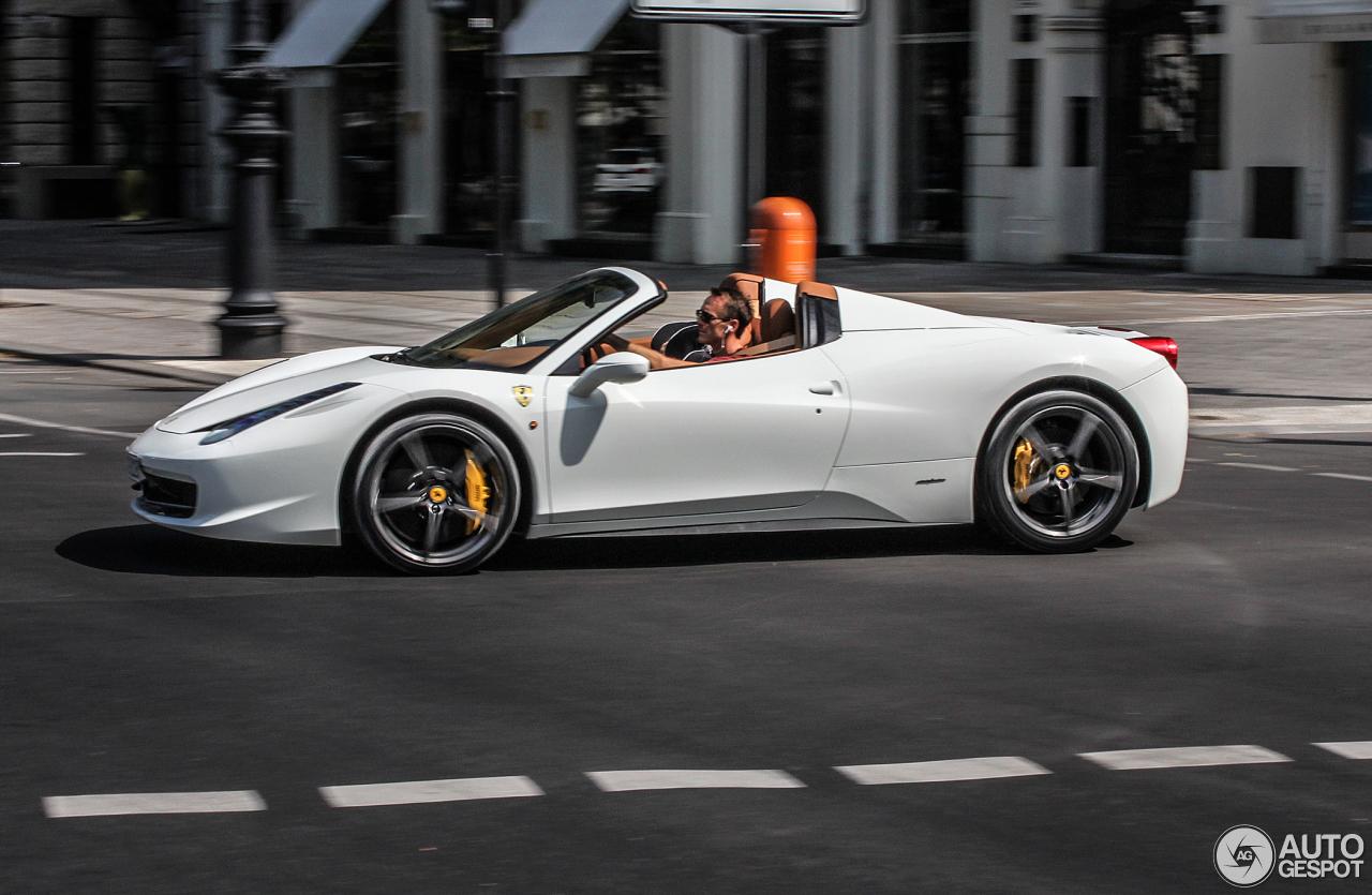 Ferrari 458 Spider 30 Juli 2013 Autogespot