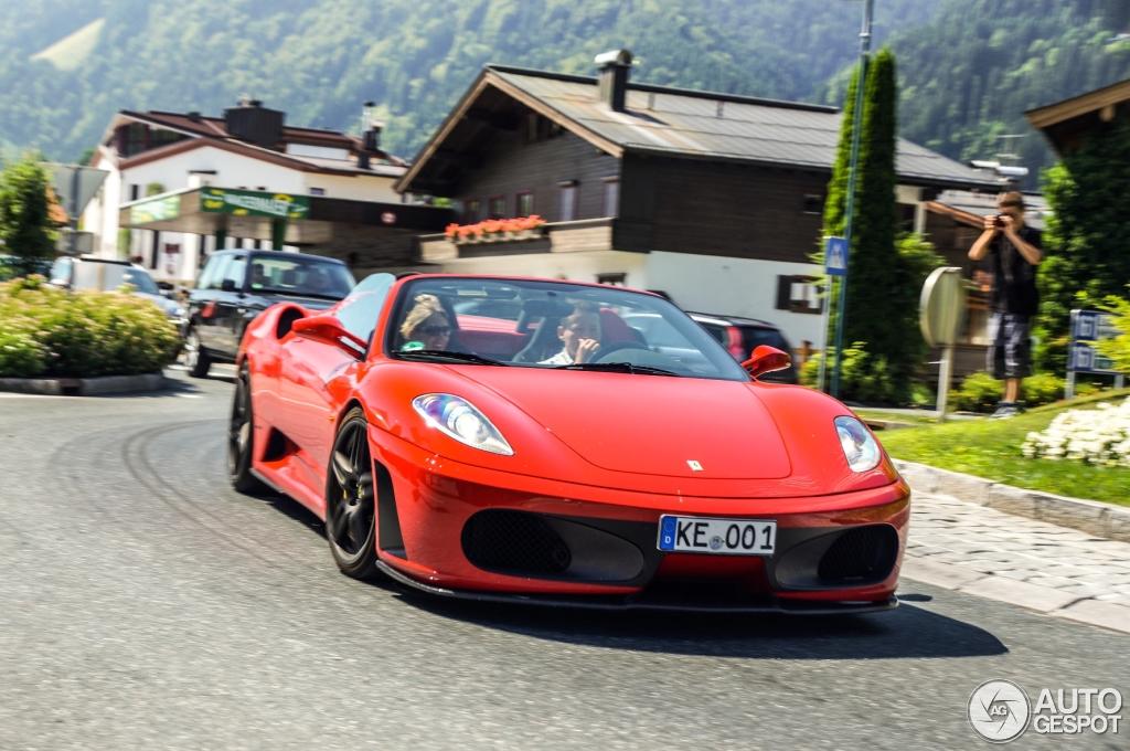 Ferrari F430 Spider Novitec Rosso 30 July 2013 Autogespot