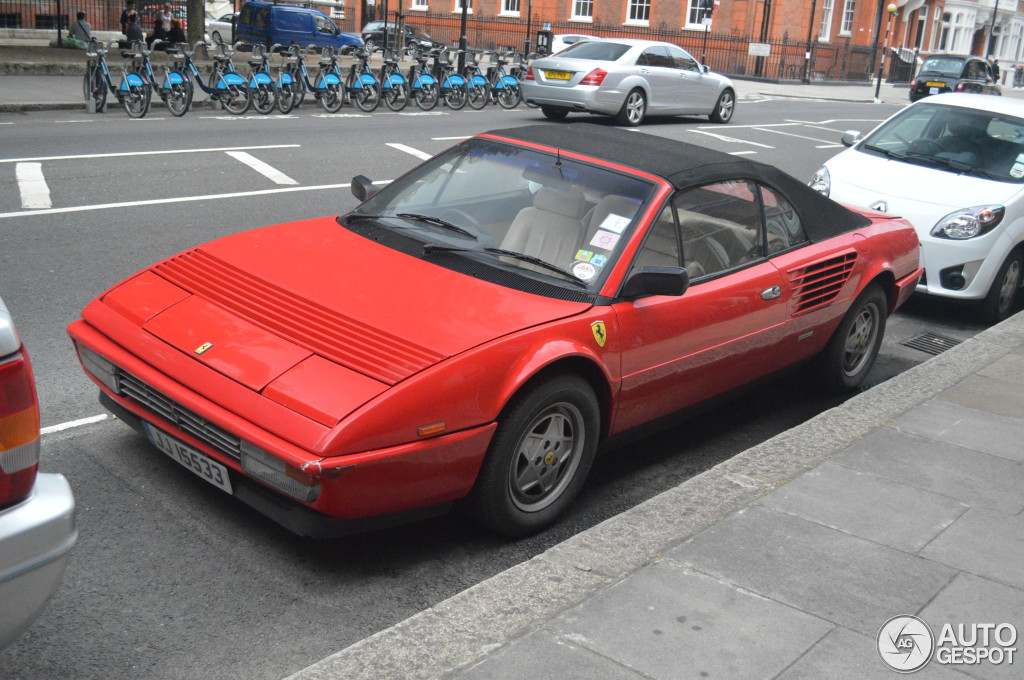 ferrari mondial 3 2 cabriolet 30 july 2013 autogespot. Black Bedroom Furniture Sets. Home Design Ideas
