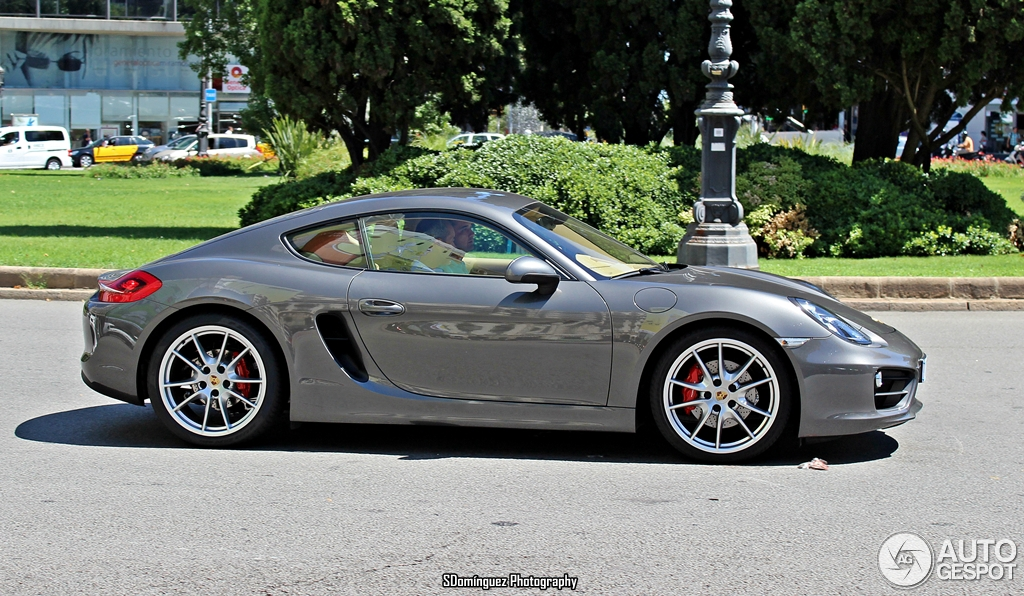 porsche 981 cayman s 30 july 2013 autogespot. Black Bedroom Furniture Sets. Home Design Ideas