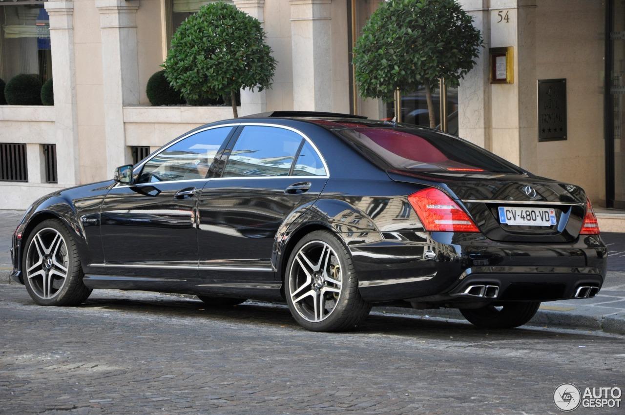 Mercedes Benz S 63 Amg W221 2011 31 Juillet 2013