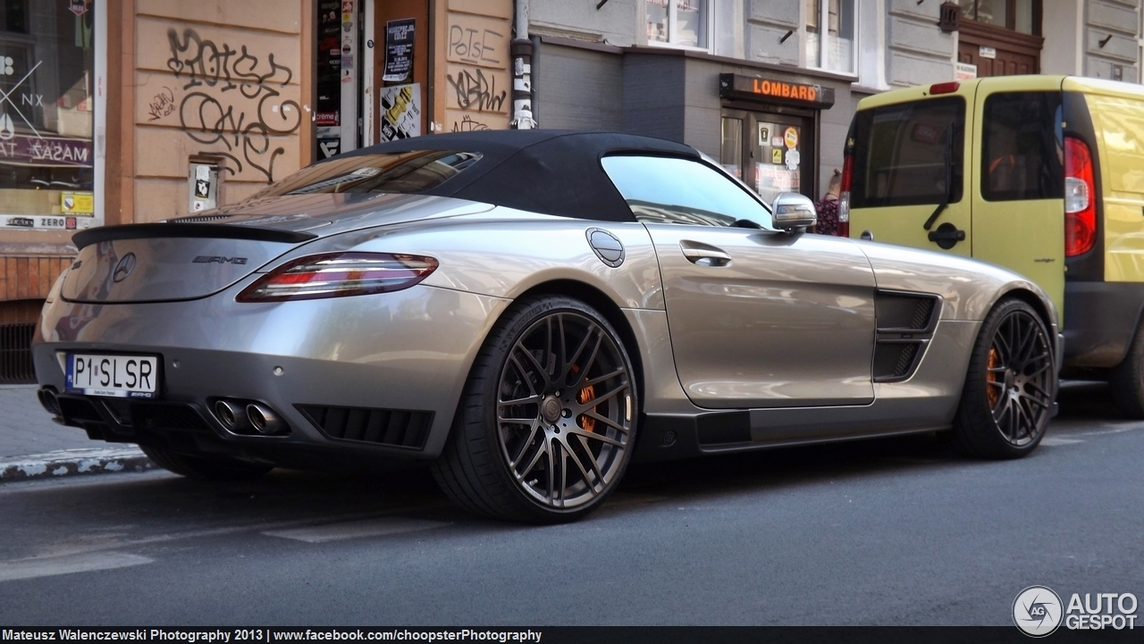 Mercedes benz brabus sls amg roadster 2 august 2013 for Mercedes benz roadster price