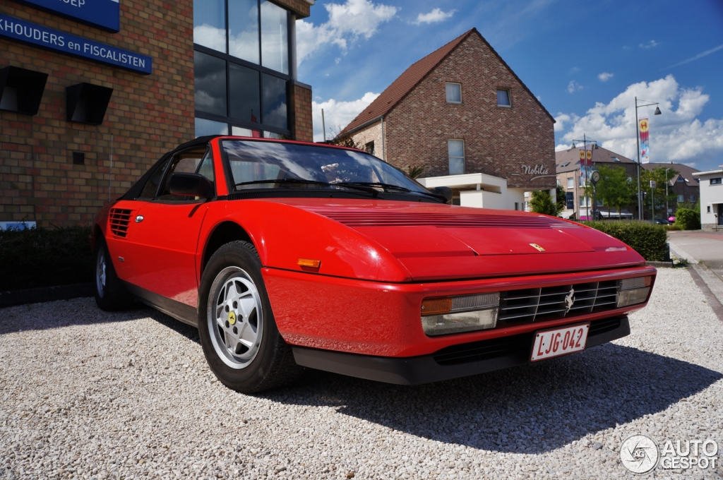 ferrari mondial 3 2 cabriolet 4 august 2013 autogespot. Black Bedroom Furniture Sets. Home Design Ideas