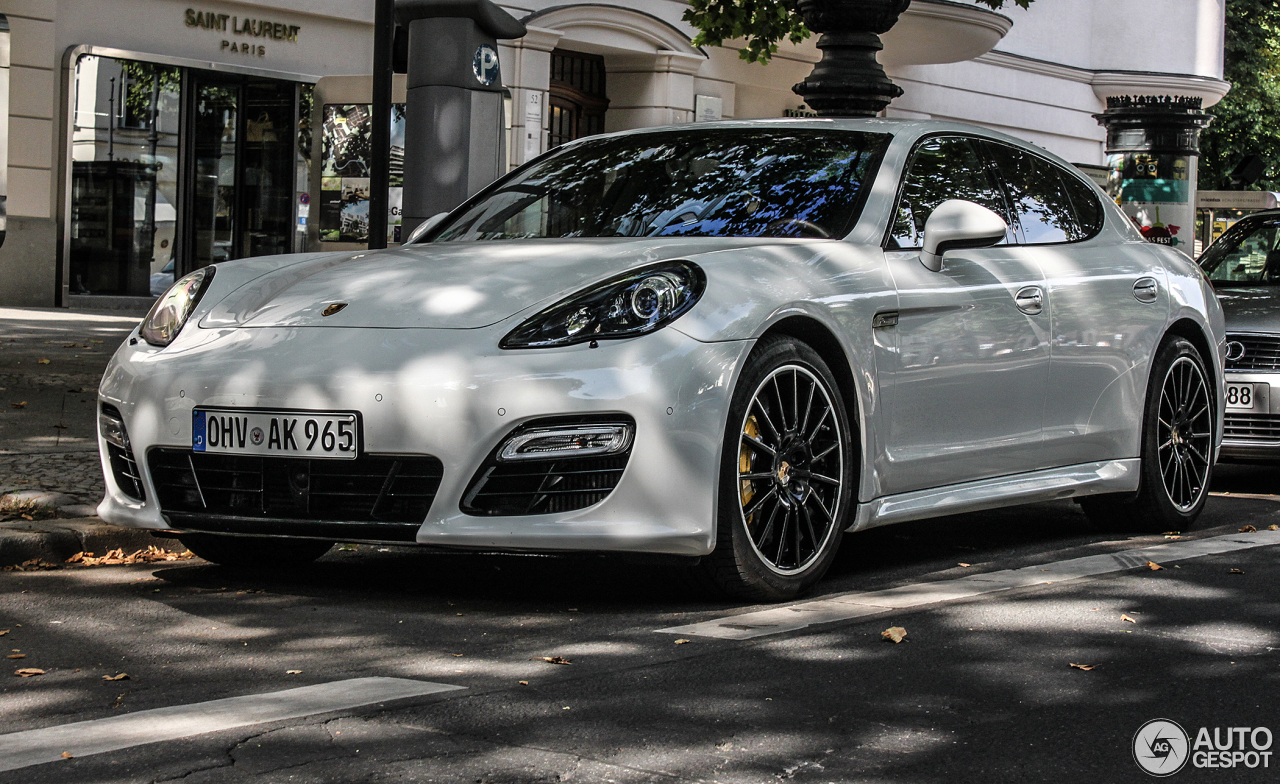 Porsche Panamera Turbo S 4 August 2013 Autogespot