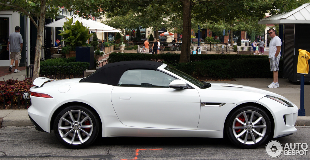Jaguar F Type S Convertible 5 August 2013 Autogespot