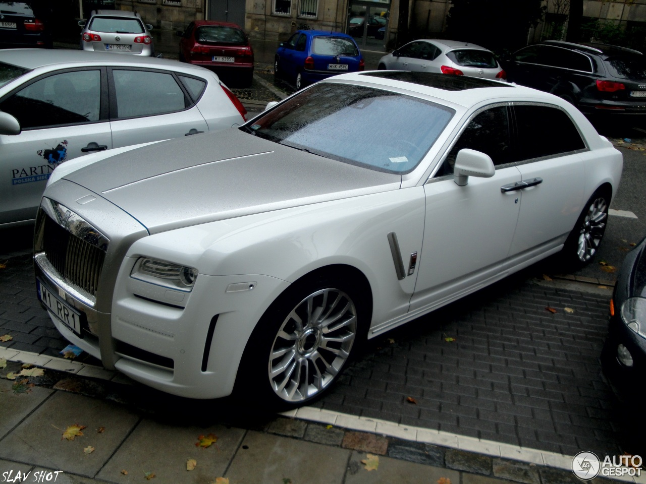 Rolls Royce Mansory White Ghost Ewb Limited 6 August