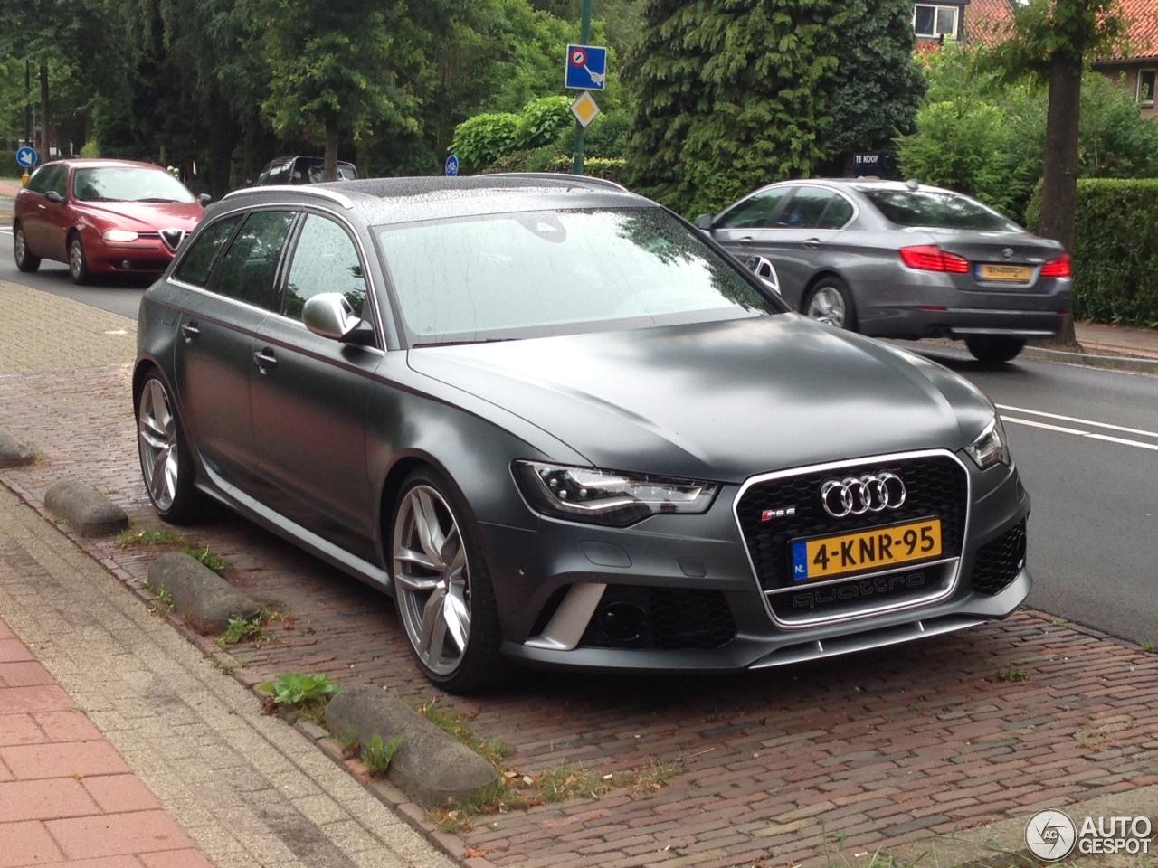 Audi Rs6 Avant C7 7 Augustus 2013 Autogespot