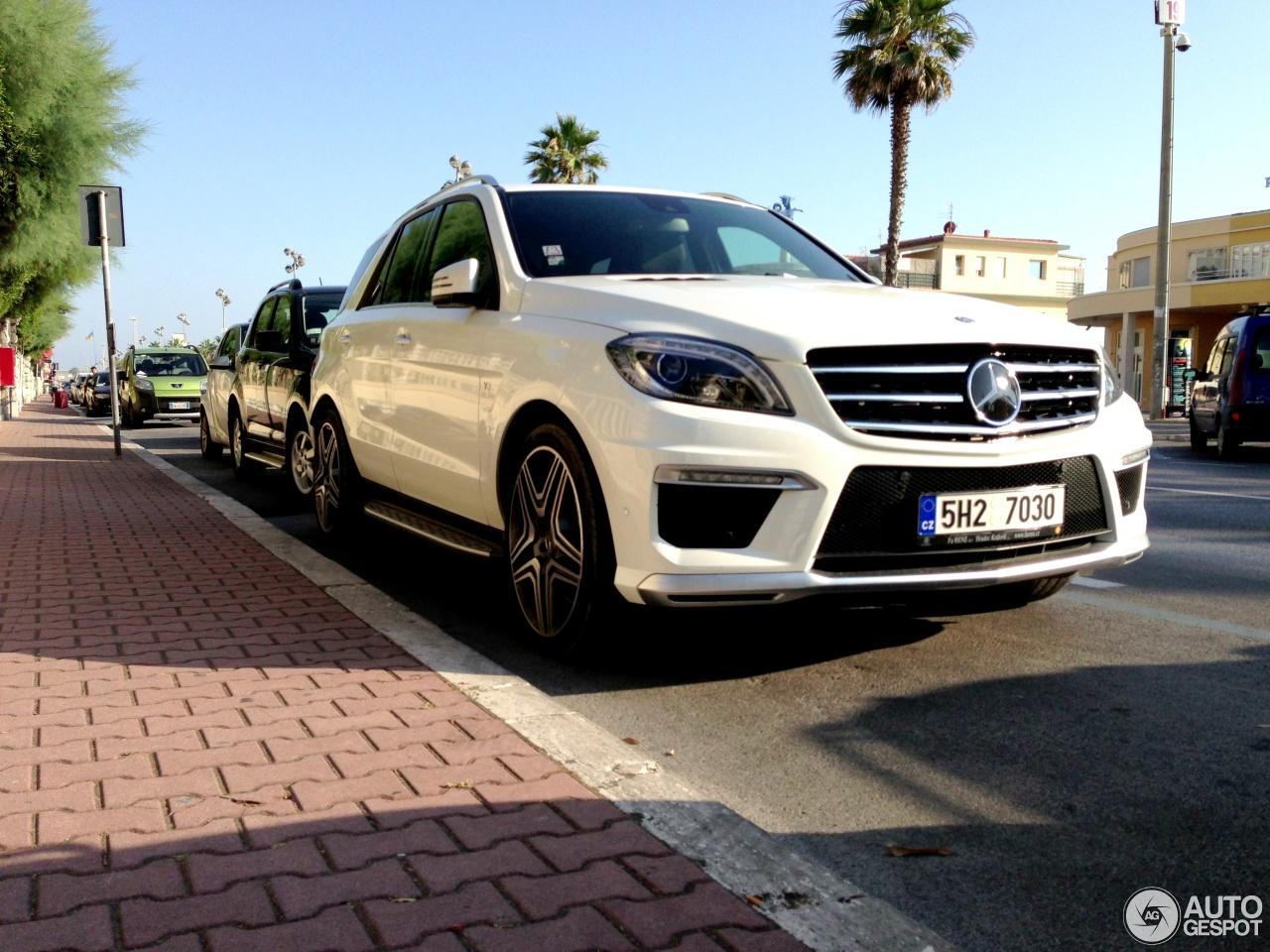 Mercedes benz ml 63 amg w166 8 august 2013 autogespot for 08 mercedes benz
