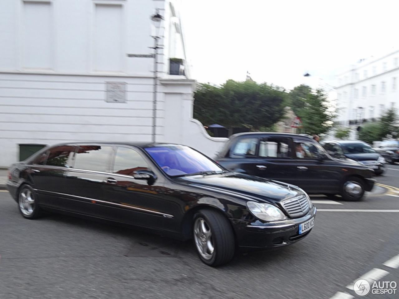 Mercedes-Benz S 600 Pullman - 10 August 2013 - Autogespot Мерседес S600 2012