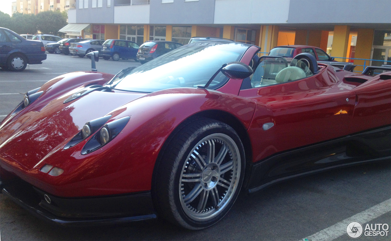Pagani Zonda C12 S Roadster 11 August 2013 Autogespot
