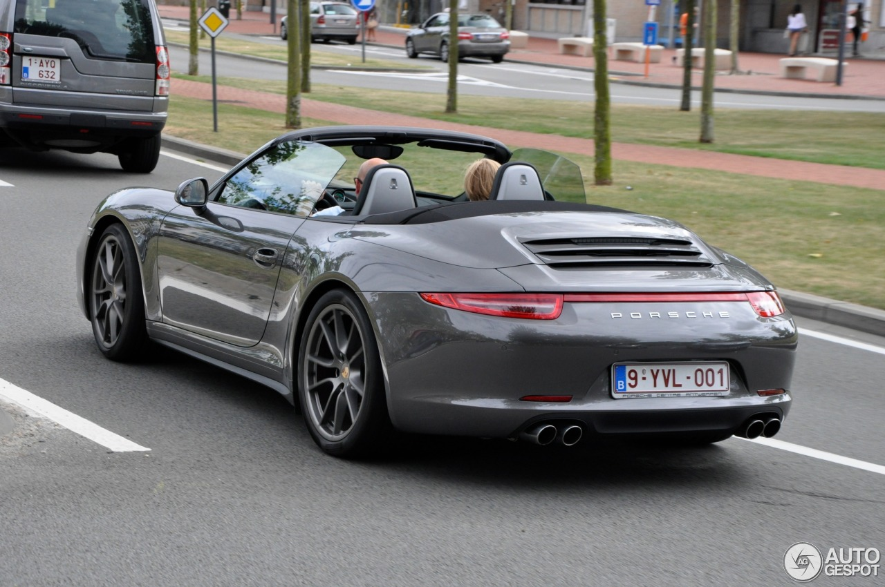 porsche 991 carrera 4s cabriolet 13 august 2013 autogespot. Black Bedroom Furniture Sets. Home Design Ideas