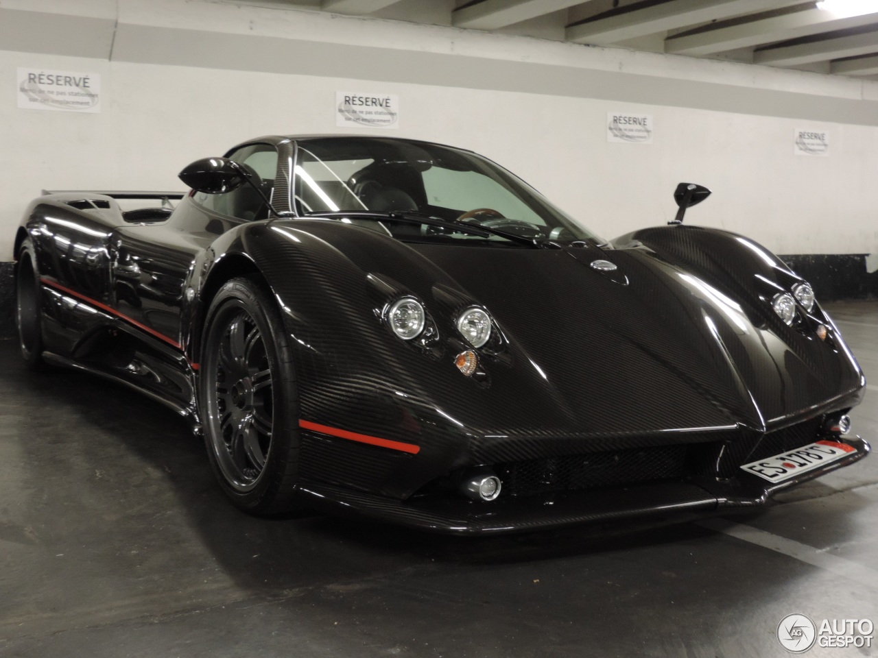 pagani zonda c12 f roadster 14 ao t 2013 autogespot. Black Bedroom Furniture Sets. Home Design Ideas