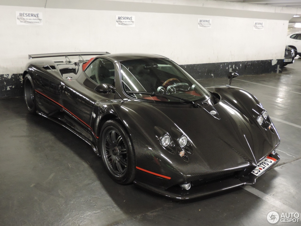 Pagani Zonda C12 F Roadster 14 August 2013 Autogespot